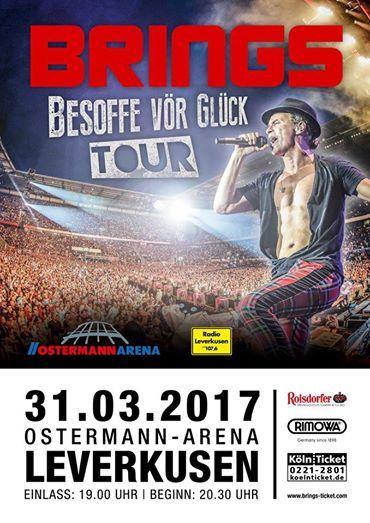 Brings Fanclub Tourdaten 2018